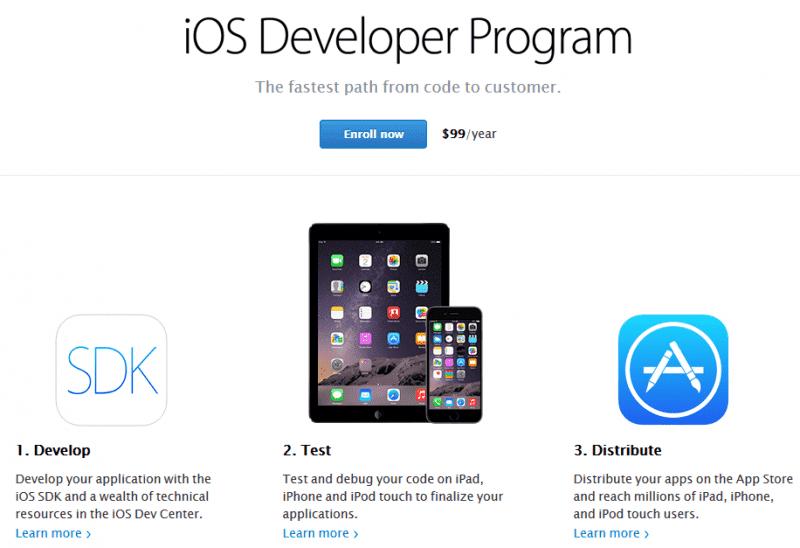 Оплата аккаунта разработчика App Store